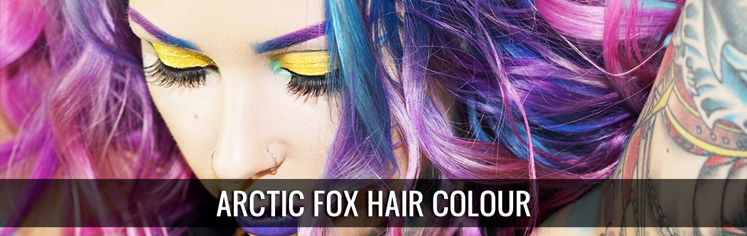 Arctic Fox Hair Colour