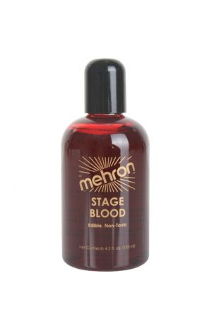 Mehron Stage Blood - Bright Arterial 270ml - Little Shop of Horrors Costumery - Mornington Frankston