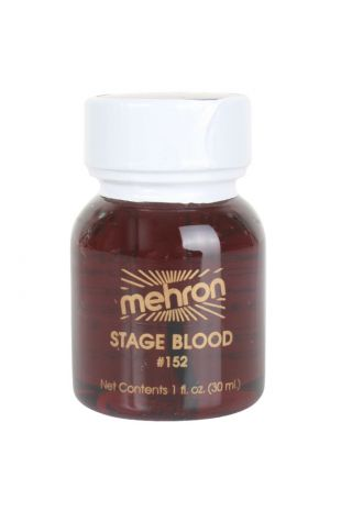 Mehron Stage Blood - Bright Arterial 30ml - Little Shop of Horrors Costumery - Mornington Frankston