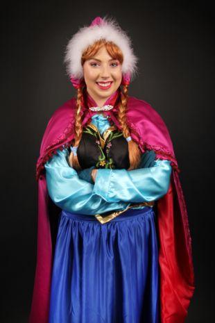 Princess Anna Costume Hire- Frozen Anna Costume Hire- Disney Anna of Arrendelle - Winter Wonderland- Little Shop of Horrors Costumery - Costume Hire Shop - Mornington Frankston Melbourne Fancy Dress Hire- Halloween- Disney Princess- Olaf
