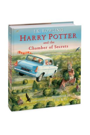 Harry Potter and the Chamber of Secrets: Illustrated Edition Book - J.K. Rowling, Jim Kay