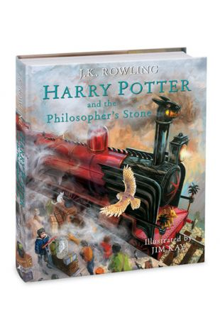 Harry Potter and the Philosopher's Stone: Illustrated Edition Book - J.K. Rowling, Jim Kay