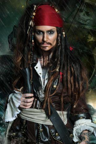 Jack Sparrow Costume - Little Shop of Horrors Costumery - 6/1 Watt Rd Mornington Frankston Melbourne Victoria Australia