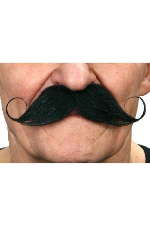 Old Sport Mo Black - Moustahe - Mustaches - Little Shop of Horrors Costumery - Mornington Frankston