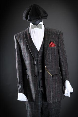 Gangster Roaring Twenties 1920s Costume - Little Shop of Horrors Costumery - Costume Hire Shop - Mornington Frankston Melbourne Victoria Australia