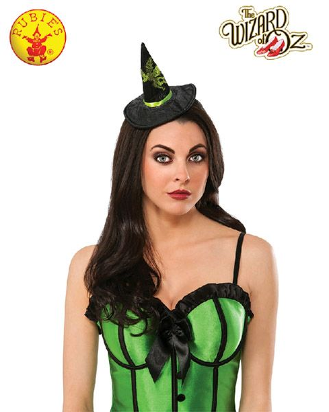 Wizard of Oz Officially Licensed Wicked Witch Mini Hat - Buy Online ... 54108eb7fc1e