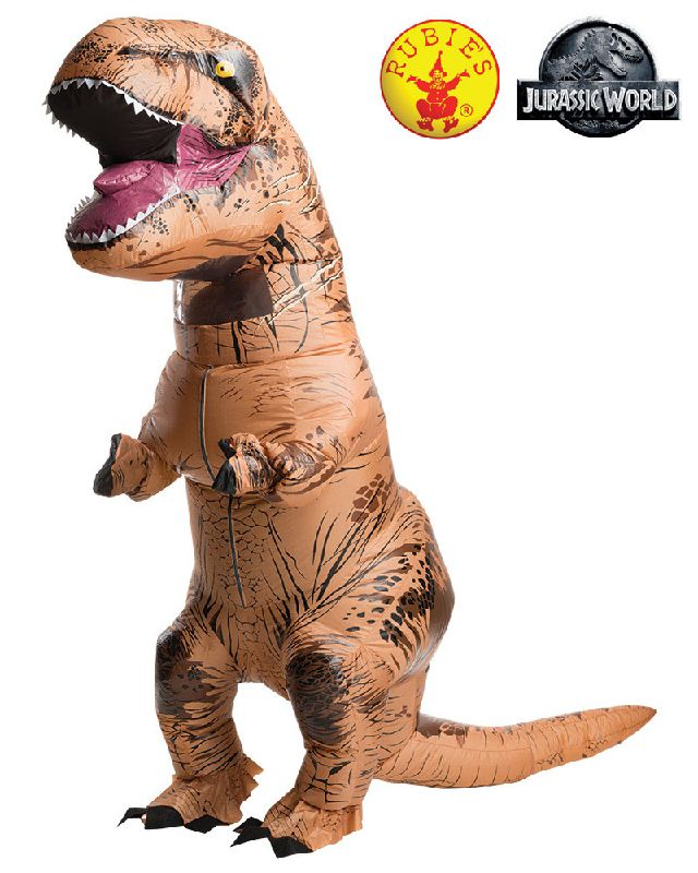 T-REX INFLATABLE COSTUME: ADULT