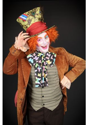 Mad Hatter from Alice in Wonderland Costume - Costume Shop Melbourne Costume Hire Mornington
