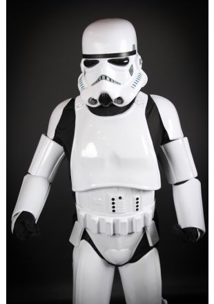 Little Shop of Horrors Costumerys Official Star Wars Stormtrooper Collectors Edition Costume created by George Lucas for the Star Wars Available for hire for fancy dress or Halloween at the best costume hire store in Mornington, Frankston, Melbourne
