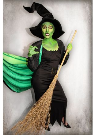 Wizard of Oz - Wicked Witch of the West Costume - Little Shop of Horrors Costumery - Costume Hire Shop - Mornington Frankston