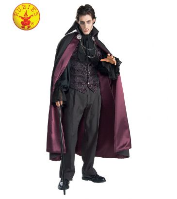 Vampire Collectors Edition Costume available to buy with Afterpay, Paypal or Layby at Little Shop of Horrors Costumery - The best costume shop in Melbourne