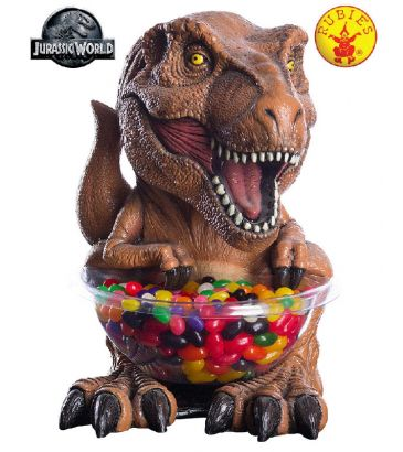 Jurassic World T-rex Candy Bowl buy online from the best costume shop in Melbourne Little Shop of Horrors Costumery