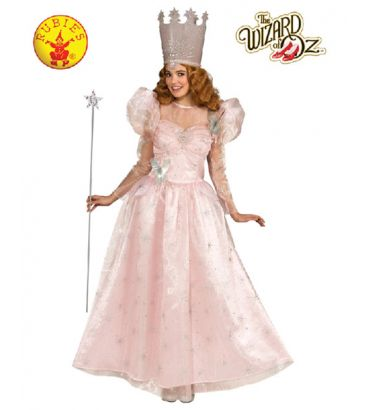 Wizard of Oz Glinda Officially Licensed Costume - Buy Online with Afterpay, Paypal or Layby at Little Shop of Horrors Costumery - Costume Shop Melbourne