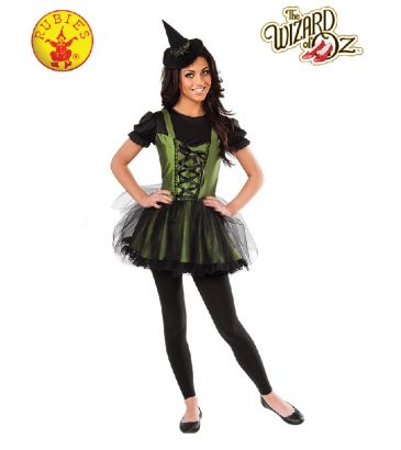 Wizard of Oz Wicked Witch of the West Officially Licensed Costume - Buy Online with Afterpay, Paypal or Layby at Little Shop of Horrors Costumery - Costume Shop Melbourne