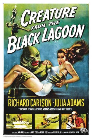 Creature From The Black Lagoon Poster (47)