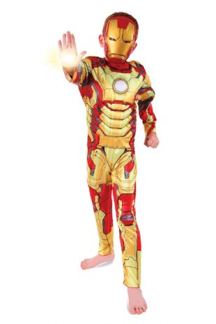Ironman Avengers Costume available to buy with Afterpay, Paypal or Layby at Little Shop of Horrors Costumery - The best costume shop in Melbourne