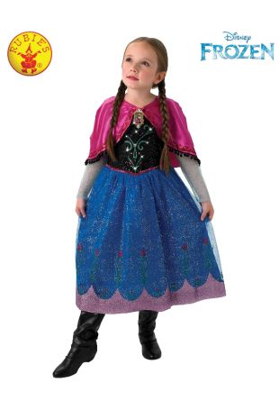 ANNA FROZEN MUSICAL LIGHT UP COSTUME, CHILD