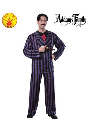 Gomez Addams Costume, Officially Licensed Addams Family Costume - Buy Online with Afterpay, Paypal or Layby at Little Shop of Horrors Costumery - Costume Shop Melbourne