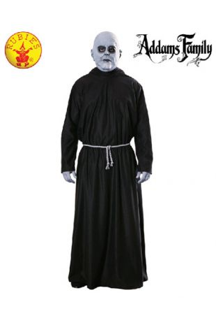 Uncle Fester Costume, Officially Licensed Addams Family Costume - Buy Online with Afterpay, Paypal or Layby at Little Shop of Horrors Costumery - Costume Shop Melbourne