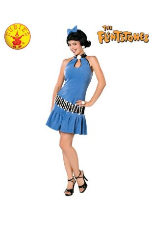 Betty Rubble Costume, Officially Licensed Flintstones Costume - Buy Online with Afterpay, Paypal or Layby at Little Shop of Horrors Costumery - Costume Shop Melbourne