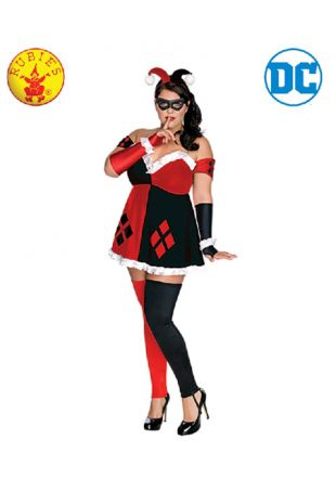 RD Ladies Costume Licensed DC Comics Harley Quinn Suicide Squad Batman 888102