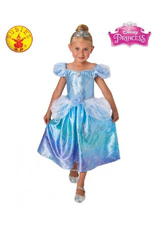 Cinderella Disney Princess Costume available to buy with Afterpay, Paypal or Layby at Little Shop of Horrors Costumery - The best costume shop in Melbourne