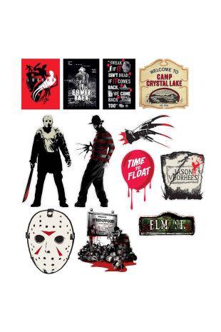 Horror Movie Cutouts Mixed Pack