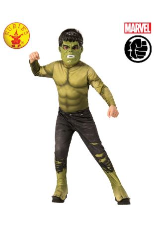 Hulk Avengers Costume available to buy with Afterpay, Paypal or Layby at Little Shop of Horrors Costumery - The best costume shop in Melbourne