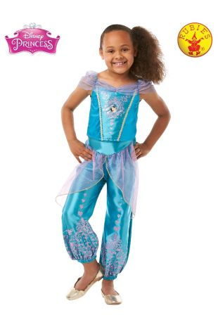 JASMINE GEM PRINCESS COSTUME, CHILD