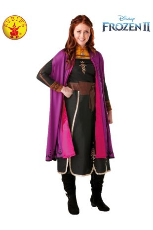 ANNA DELUXE FROZEN 2 COSTUME, ADULT