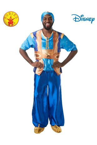 GENIE LIVE ACTION ALADDIN COSTUME, ADULT