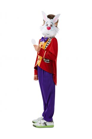 WHITE RABBIT ALICE IN WONDERLAND COSTUME, CHILD