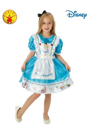 ALICE IN WONDERLAND DELUXE COSTUME, CHILD