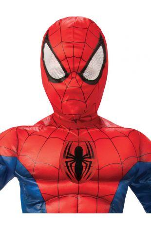 SPIDER-MAN DELUXE LENTICULAR COSTUME, CHILD