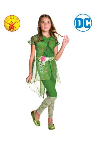 Poison Ivy Super Hero High Officially Licensed DC Comics Costume - Buy Online with Afterpay, Paypal or Layby at Little Shop of Horrors Costumery - Costume Shop Melbourne