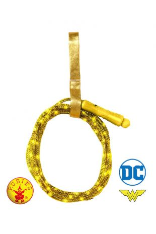 Wonder Woman Lasso, Officially Licensed DC Comics Costume - Buy Online with Afterpay, Paypal or Layby at Little Shop of Horrors Costumery - Costume Shop Melbourne