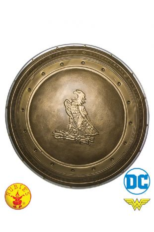 Wonder Woman Shield, Officially Licensed DC Comics Costume - Buy Online with Afterpay, Paypal or Layby at Little Shop of Horrors Costumery - Costume Shop Melbourne