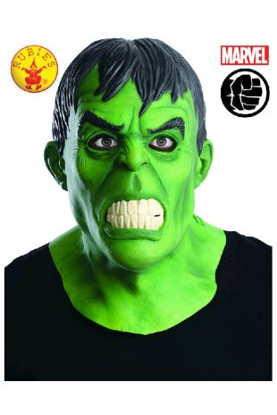 Hulk Mask buy online from the best costume shop in Melbourne Little Shop of Horrors Costumery