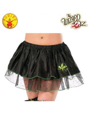 Wizard of Oz Wicked Witch Officially Licensed Costume Tutu - Buy Online with Afterpay, Paypal or Layby at Little Shop of Horrors Costumery - Costume Shop Melbourne