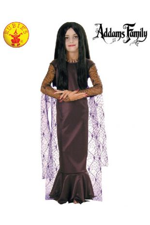 Morticia Addams Costume, Officially Licensed Addams Family Costume - Buy Online with Afterpay, Paypal or Layby at Little Shop of Horrors Costumery - Costume Shop Melbourne
