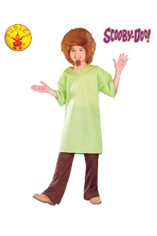 Shaggy Costume, Officially Licensed Scooby Doo Costume - Buy Online with Afterpay, Paypal or Layby at Little Shop of Horrors Costumery - Costume Shop Melbourne