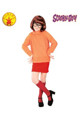 Velma Costume, Officially Licensed Scooby Doo Costume - Buy Online with Afterpay, Paypal or Layby at Little Shop of Horrors Costumery - Costume Shop Melbourne