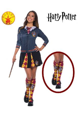 Gryffindor Socks - Harry Potter Officially Licensed Costume - Buy Online with Afterpay, Paypal or Layby at Little Shop of Horrors Costumery - Costume Shop Melbourne