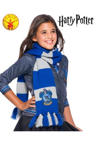 Ravenclaw Scarf - Harry Potter Officially Licensed Costume - Buy Online with Afterpay, Paypal or Layby at Little Shop of Horrors Costumery - Costume Shop Melbourne