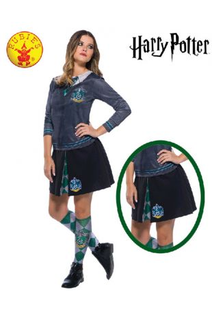 Slytherin Skirt - Harry Potter Officially Licensed Costume - Buy Online with Afterpay, Paypal or Layby at Little Shop of Horrors Costumery - Costume Shop Melbourne