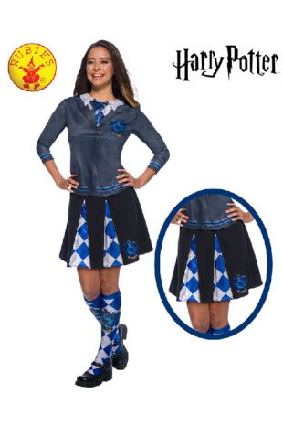 Ravenclaw Skirt - Harry Potter Officially Licensed Costume - Buy Online with Afterpay, Paypal or Layby at Little Shop of Horrors Costumery - Costume Shop Melbourne