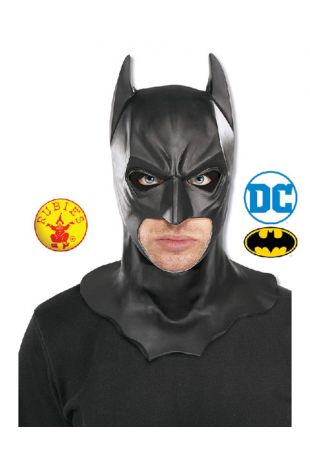 Batman Officially Licensed DC Comics Mask - Buy Online with Afterpay, Paypal or Layby at Little Shop of Horrors Costumery - Costume Shop Melbourne
