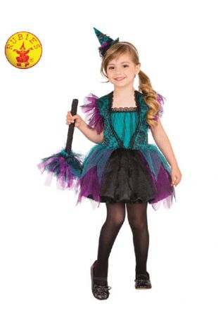 Witch Costume, Spooky Halloween Costume, available to buy with Afterpay, Paypal or Layby at Little Shop of Horrors Costumery - The best costume shop in Melbourne