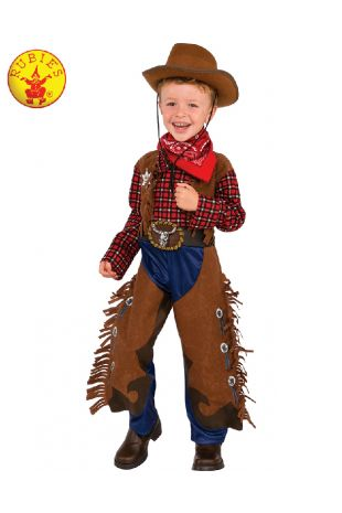 LITTLE WRANGLER COWBOY COSTUME, CHILD