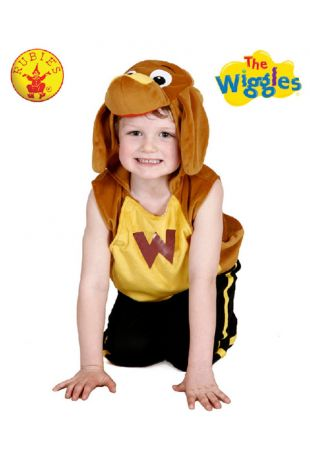 Wags the Dog Costume, Officially Licensed Wiggles Costume - Buy Online with Afterpay, Paypal or Layby at Little Shop of Horrors Costumery - Costume Shop Melbourne